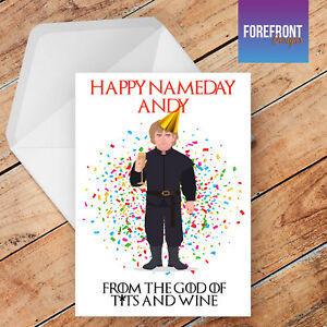 Personalised Arsenal Football Funny//Spoof Birthday Greeting Card A5