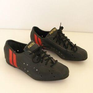 4 Taille Neuves Patrick Chaussures Cuir 37 Sur Vintage Cycliste De Détails Ancienne Paire WYeDIH2E9