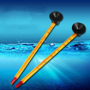 Aquarium Glass Thermometer With Suction Hydrometer £1.99 24 Hour Dispatch U.k. Fish & Aquariums