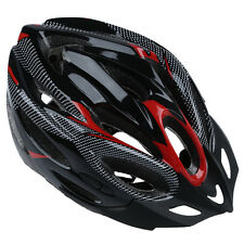 JSZ Sports Bike Bicycle Cycling Safety Helmet with Visor Adult Red S* DT