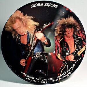 Judas-Priest-Interview-Picture-Disc-12-034-Vinyl-LP-Near-Mint-BAK-2054