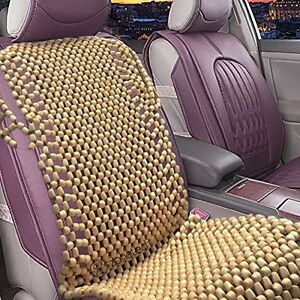 Image Is Loading Zone Tech Natural Wooden Beaded Car Seat Cover