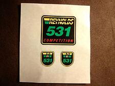 Reynolds 531 competition Decals pegatinas set marco & horquilla original no repro