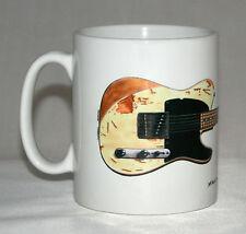 Guitar Mug. Jeff Beck's 1954 Fender Esquire illustration.