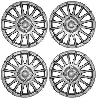 "Set of 4 14 Inch 14"" Hub Cap Wheel Trims for Citroen Saxo 1996 to 2004 UX35"