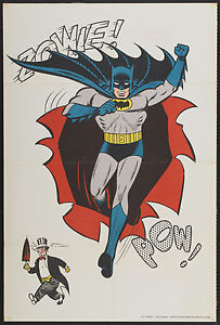 VINTAGE-BATMAN-AWESOME-1966-ADVERTISING-POSTER-PRINT-LOOKS-GREAT-FRAMED