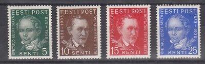 1938 Gelehrten Gesellschaft 138-41 **, Estland 26189