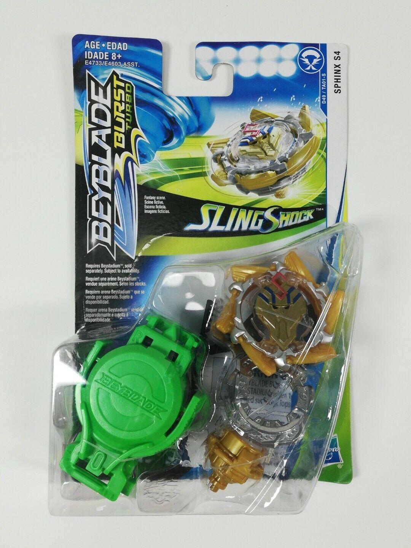 BEYBLADE Burst Turbo Slingshock Sphinx S4 Starter Pack Battling Top and Right//Left-Spin Launcher Age 8+