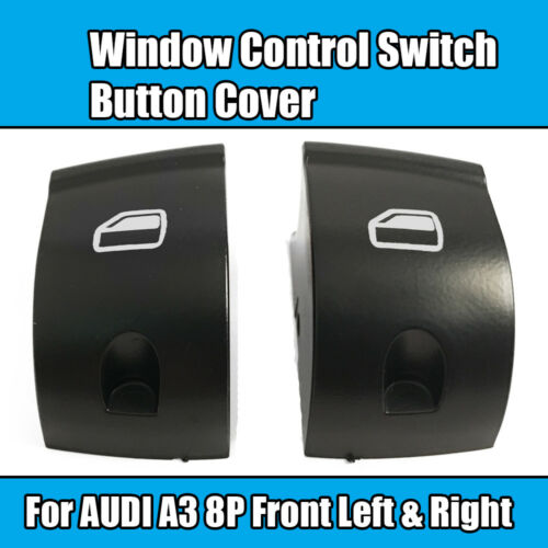 2x Window Control Switch For AUDI A3 8P Button Cover Front Left /& Right