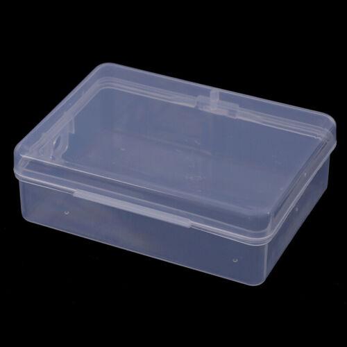 9cm*6.5cm*3cm Transparent Plastic Storage Box Clear Square Multipurpose  ·P ld