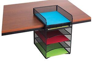 Delightful Image Is Loading Mesh Hanging Desk Organizer File Folder Letter Tray