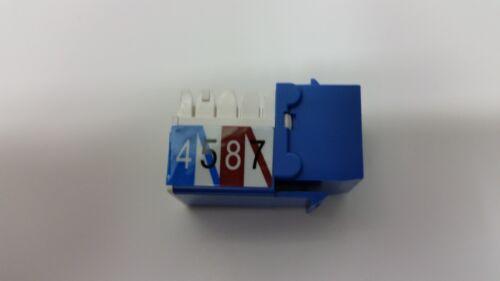 New QTY-5 Black Box Gigabase 2 FMT920-R2  Universal Wiring Jack Cat 5e