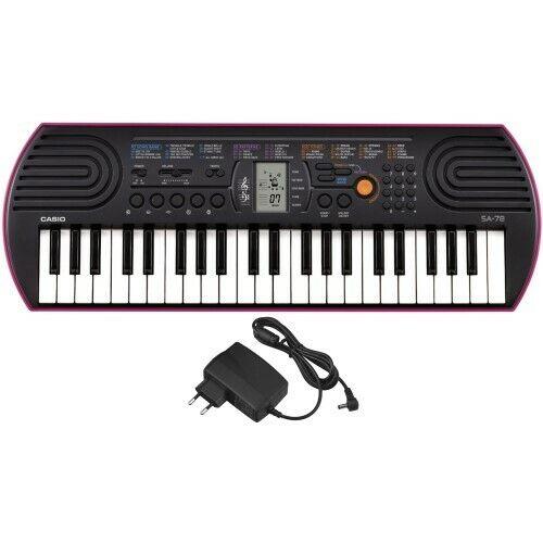 Casio SA-78 Keyboard Netzteil SetNeu