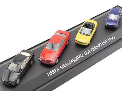 Nachdenklich Herpa 168038 Messemodell Iaa 1993 Bmw Mercedes Audi Opel Ovp 1607-23-94 GroßE Vielfalt