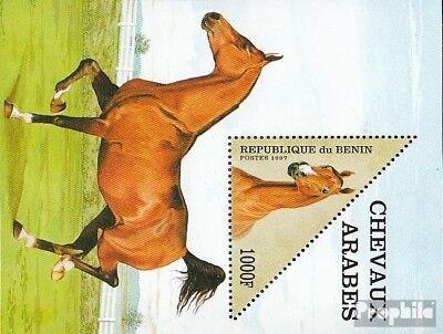 Topical Stamps Reasonable Benin Block27 Unmounted Mint Never Hinged 1997 Arabian Horses