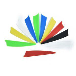 10Pcs-lot-2-5-034-Shield-Cut-Feathers-Hunting-TPU-Arrow-Vane-Arrow-Accessories-LJ