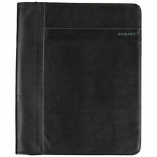 At A Glance Professional Size Planner Cover Black Fits 9 X 11 Pages Planner