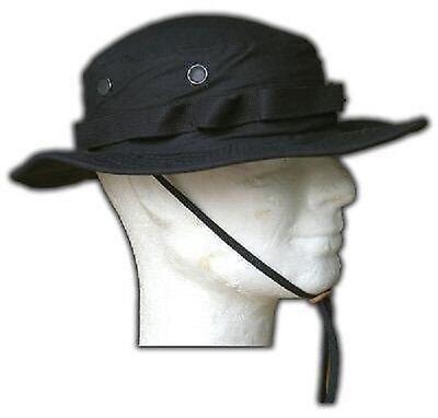 Consegna Veloce Us Propper Outdoor Cotton Boonie Cap Berretto Black Nero L/large- Corrispondenza A Colori