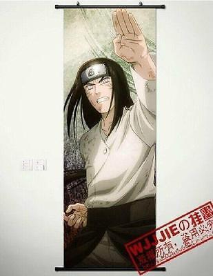 Naruto Neji Hyûga Hinata Hyûga Anime  Home Decor Wall poster Scroll 60*40CM
