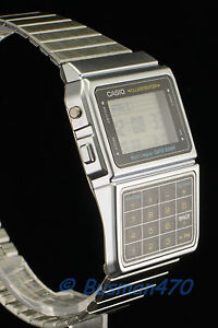 c88803c098c Image is loading CASIO-Databank-Calculator-Silver-Stainless-Steel-DBC-611-