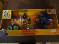 Fisher Price Imaginext Dc Super Friends Gift Set Two Face Joker Batman Batwing