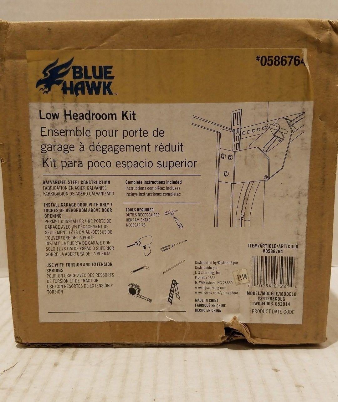 Blue Hawk Low Headroom Kit Garage Door Tiendamia Com