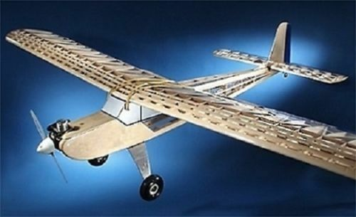 Nuovo 48  Telemaster 4 Channel RC Plane Kit Remote Control R/C Airplane 48in Balsa