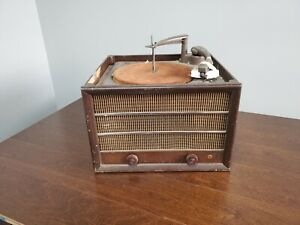Vintage-General-Electric-GE-Model-14-Record-Player-Phonograph-Turntable-1946