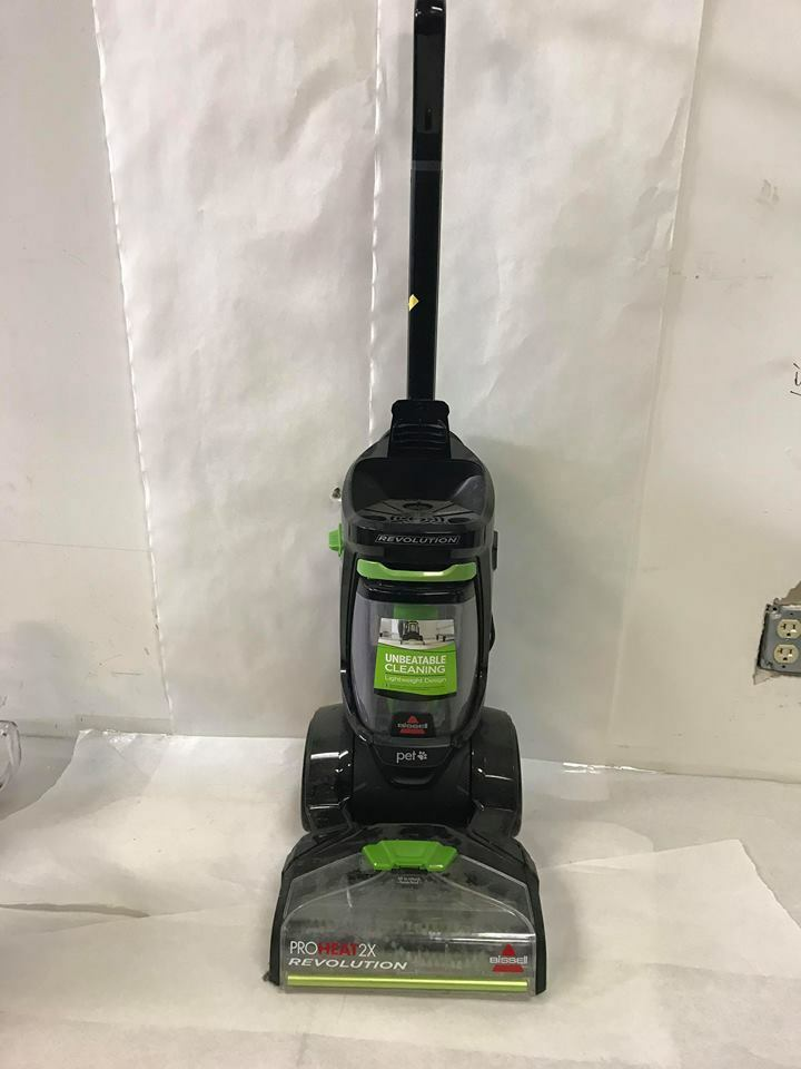 Bissell 1548P ProHeat 2X Revolution Deep Cleaner Vacuum - Green (Incomplete)