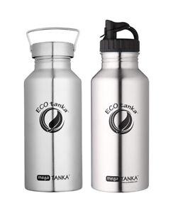 ECO-Edelstahl-Mega-Tanka-2-Liter-2-versch-Verschluesse-Umweltfreundlich-NEU