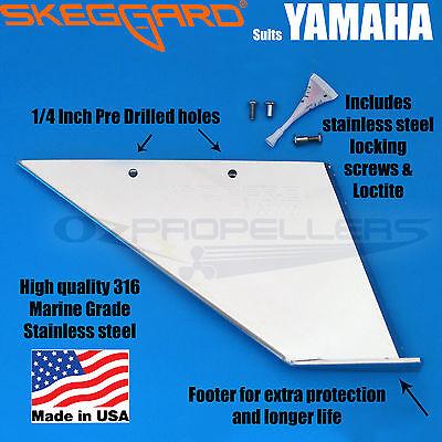 YAMAHA Outboard 200hp  SKEGGARD SKEG GUARD 1984-2017 part 99030 or 99015