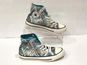 Details about Converse Chuck Taylor Womens Hi Top Sneaker Geometric Green 563816F