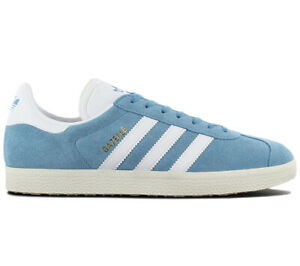 Dettagli su Adidas Originals Gazelle Uomo Sneaker BZ0022 Scarpe Blu Retro Ginnastica Nuovo