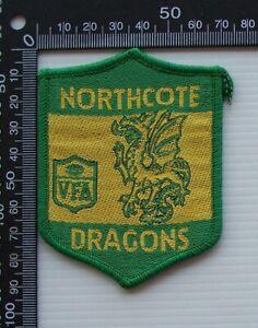 RARE VINTAGE VFA NORTHCOTE DRAGONS EMBROIDERED WOVEN CLOTH VFL SEW-ON BADGE