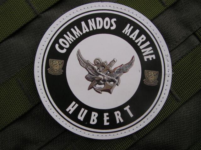 SNAKE PATCH PVC - COMMANDOS MARINE HUBERT - art Fantaisie - nageur de combat