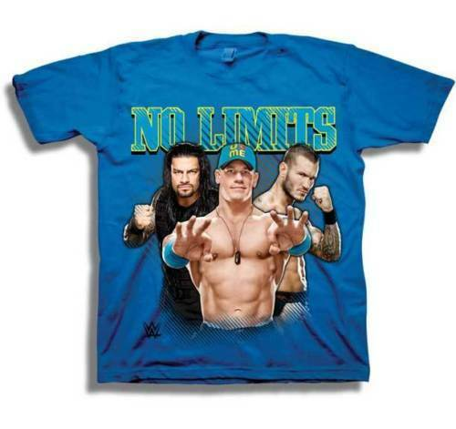 Royal Blue WWE John Cena No Limits Little Boy/'s T-Shirt