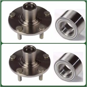 2 front wheel hub bearing for ford fusion 2006 2012 left. Black Bedroom Furniture Sets. Home Design Ideas