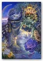 FANTASY POSTER Key to Eternity Josephine Wall