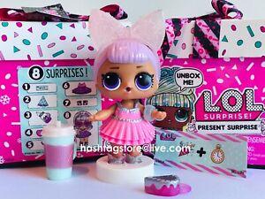 LOL Sorpresa Regalo a Sorpresa Bambola con 8 sorprese FEBBRAIO Violet.