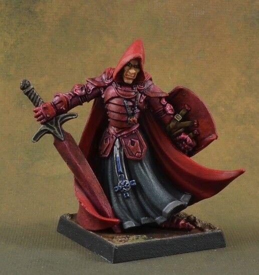 Pintado Sir Conlan, cruzados Sargento De Caballero Macho Reaper Miniatures