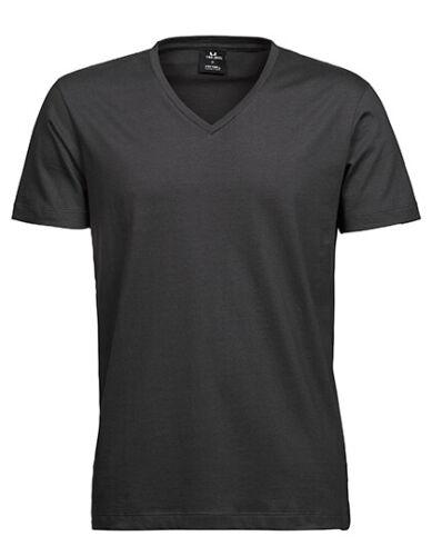Herren V-Ausschnitt Kragen T-Shirt Sof-Tee von Tee Jays