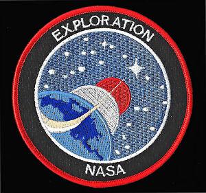 ORIGINAL NASA - EXPLORATION - Vision for SPACE - AB Emblem PATCH - MINT**