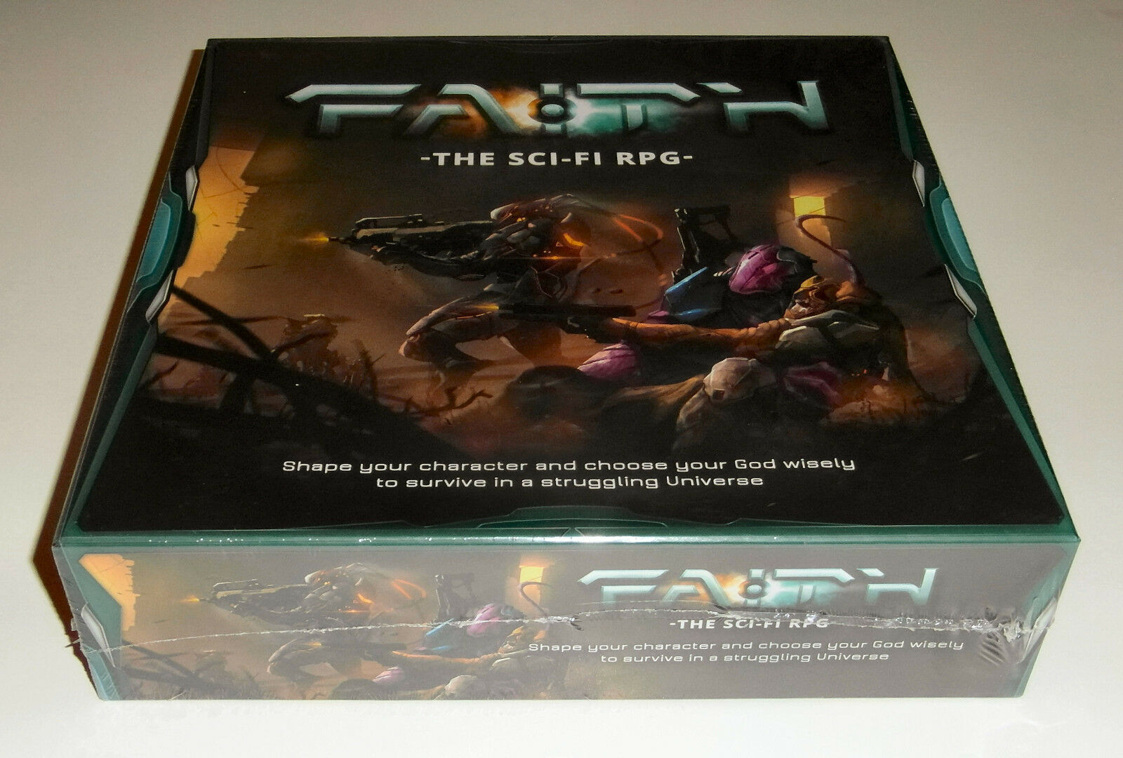FAITH  The Sci-Fi RPG - Burning Games - 2015