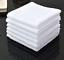 1 DOZEN WHITE WASHCLOTH 100/% COTTON HEAVY WASHCLOTHS 12X12 HOME BRAND