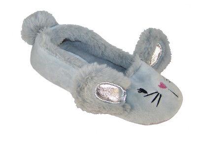 Le Ragazze Gatto Pantofole per bambini Peluche Novità Regalo di Natale 3D