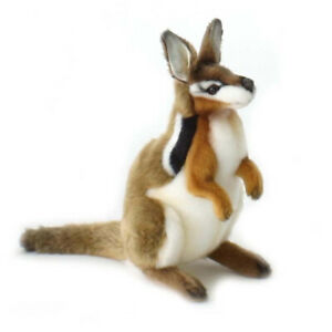HANSA-CRESENT-NAILTAIL-WALLABY-REALISTIC-CUTE-SOFT-ANIMAL-PLUSH-TOY-25cm-NEW