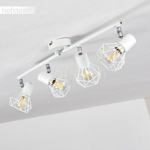 Retro 4-flammige Decken Lampe Flur Strahler Wohn Schlaf Zimmer Raum Beleuchtung