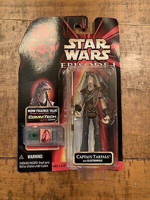 Hasbro Captain Tarpals With Electropole Star Wars Episode Action Figure for sale online
