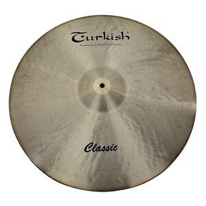 TURKISH-CYMBALS-cymbale-Classic-Rock-20-034-Ride