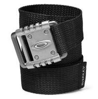 Oakley 96134ovt-001 Vsl Mens Golf Adjustable Black Web Belt